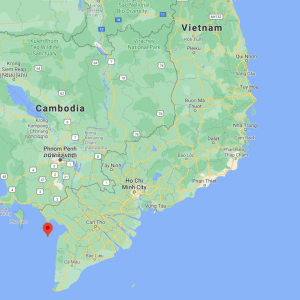 Hon Son Island Map Vietnam - TONTOTON