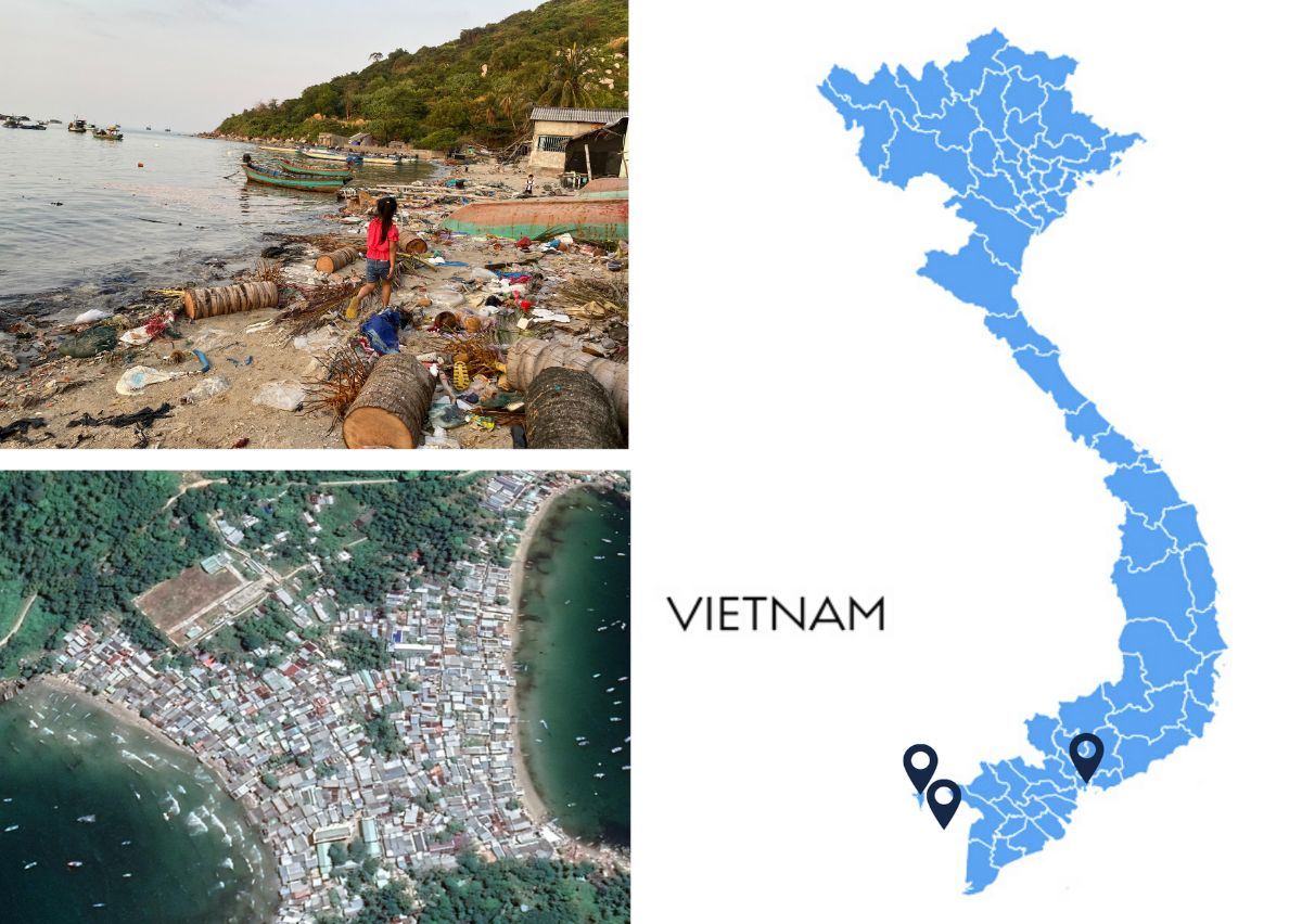 TONTON Project Map Vietnam