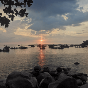 Sunset Hon Son Island - TONTOTON