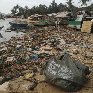 TONTOTON Bag Plastic Waste