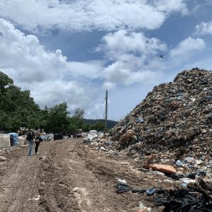 TONTOTON Team at Cua Can Landfill
