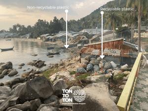 TONTOTON Ocean Bound Plastic